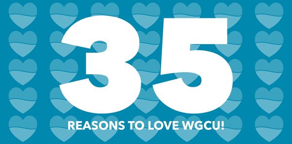 35 Reasons to Love WGCU