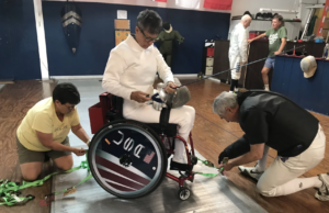 SWFL Paralympic Fencer Trains for the 2020 Tokyo Paralympic Games