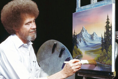 Bob Ross Month features Joy of Painting shows Oct. 23-29