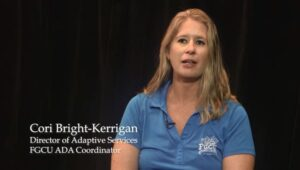 What does FGCU Adaptive Services do?